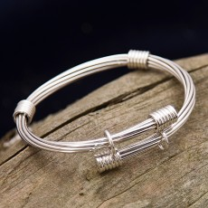 Talbot Silver Bangle